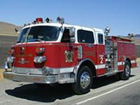 Wicktonville Fire Department's Engine 2 - 1977 American LaFrance Century Pumper