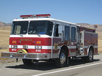 Wicktonville Fire Department's Engine 3 - 1988 Emergency One Cyclone Pumper