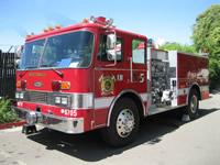 Wicktonville Fire Department's Engine 5 - 1983 Pierce Dash
