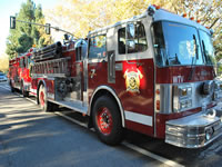 Wicktonville Fire Department's Engine 7 - 1984 Spartan / Van Pelt Pumper Engine