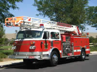 Wicktonville Fire Department's Quint 59 - 1981 American LaFrance Water Chief